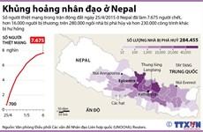 [Infographics] Khủng hoảng nhân đạo nghiêm trọng ở Nepal