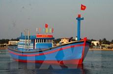 Quảng Bình hạ thủy tàu vỏ gỗ đầu tiên đóng mới theo Nghị định 67
