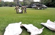 Trực thăng Black Hawk của quân đội Colombia bị bắn hạ