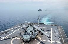Hải quân Singapore, Mỹ bắt đầu tập trận CARAT lần thứ 21
