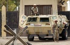 Quân đội Ai Cập ngăn chặn một vụ tấn công liều chết bằng bom xe
