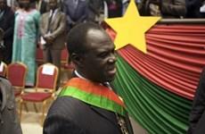 Tổng thống lâm thời của Burkina Faso tiến hành cải tổ nội các
