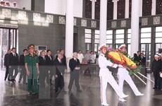 [Photo] Lãnh đạo Đảng và Nhà nước dự Lễ tang Nhà báo Hữu Thọ
