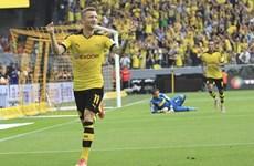 Dortmund đại thắng Gladbach 4-0, HLV Thomas Tuchel ra mắt hoàn hảo
