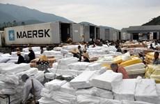 Lào Cai cho phép tiếp tục tái xuất hàng thực phẩm đông lạnh