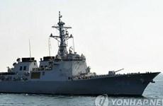 Hàn Quốc triển khai tàu chiến Aegis đối phó với tên lửa Triều Tiên
