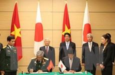 Trưởng ban Tổ chức Trung ương Tô Huy Rứa gặp cựu Thủ tướng Nhật