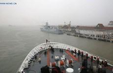 Tàu Hải quân Trung Quốc cập cảng Malaysia để tập trận chung