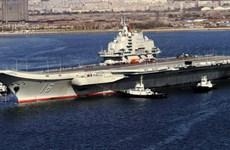 Trung Quốc bác thông tin điều tàu sân bay đến bờ biển Syria