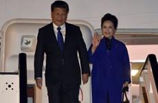 Chủ tịch Trung Quốc bắt đầu chuyến thăm cấp nhà nước tới Anh