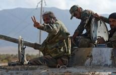 Quân đội Syria giành lại các khu vực tại tỉnh Homs từ IS