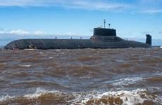 [Video] Nga đưa tàu ngầm tên lửa hạt nhân khổng lồ tới Syria