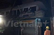 [Video] Khu nhà cổ quận Hoàn Kiếm bất ngờ phát hỏa trong đêm