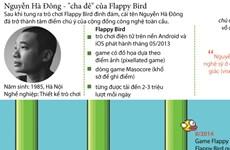 """[Infographics] Nguyễn Hà Đông - cha đẻ của """"siêu phẩm"""" Flappy Bird"""
