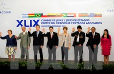 Khai mạc Hội nghị thượng đỉnh Khối MERCOSUR tại Paraguay