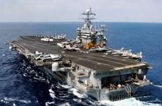 Quân đội Iran phủ nhận bắn rốckét về phía tàu sân bay Mỹ