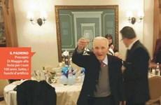 Italy: Bố già ngang nhiên đốt pháo mừng sinh nhật lần thứ 100