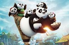 """""""Kungfu Panda 3"""" khuynh đảo phòng vé Bắc Mỹ và Trung Quốc"""