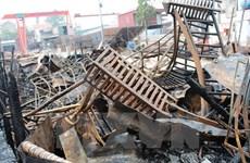 Liên tiếp xảy ra các vụ cháy tàu ở Quảng Ngãi và Quảng Ninh