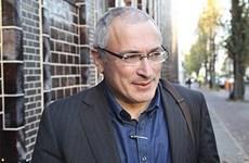 Interpol từ chối yêu cầu truy nã cựu tài phiệt Mikhail Khodorkovsky