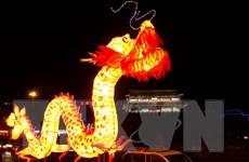 [Photo] Đèn lồng khổng lồ thắp sáng đường phố Trung Quốc