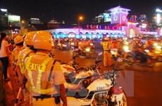 Tạm giữ 2 nghi can chém người cướp xe tại Thành phố Hồ Chí Minh