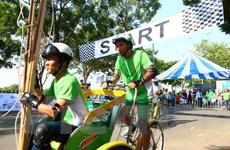 Cuộc đua Thử Thách Cùng Xích Lô hỗ trợ trẻ em hoàn cảnh khó khăn