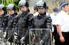 Cảnh sát Tokyo diễn tập chống khủng bố trước thềm Hội nghị G-7