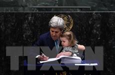 175 nước trên thế giới ký Hiệp định Paris về biến đổi khí hậu
