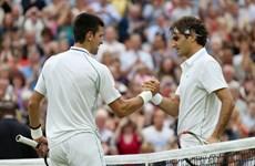 """Roger Federer """"đại chiến"""" Djokovic ở chung kết Wimbledon"""