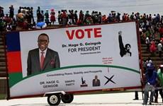 Namibia tiến hành cuộc bầu cử điện tử đầu tiên ở châu Phi
