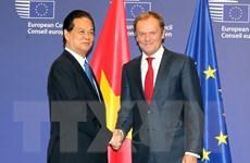 Lãnh đạo Việt Nam-EU ra tuyên bố báo chí chung thúc đẩy hợp tác