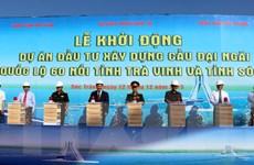 Đầu tư hơn 5.700 tỷ đồng xây cầu nối Sóc Trăng và Trà Vinh