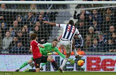 "[Photo] West Brom khiến Manchester United phải ""nếm trái đắng"""