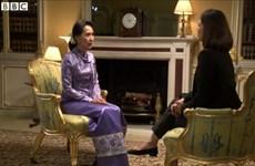 Bà Suu Kyi từng mất bình tĩnh trước biên tập viên người Hồi giáo