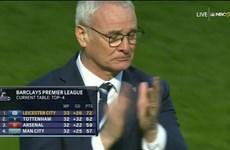 Ranieri rơi lệ trong ngày Leicester chạm 1 tay vào cúp vô địch