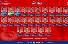 Tuyển Tây Ban Nha gây bất ngờ: Torres, Costa và Mata bị loại