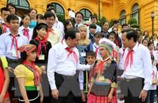Chủ tịch nước: Chăm sóc và bảo vệ trẻ em là vấn đề chiến lược