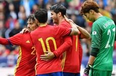Cận cảnh chiến thắng hủy diệt của Tây Ban Nha trước Hàn Quốc