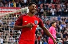 """Marcus Rashford - Ngọn lửa """"xanh"""" của đội tuyển Anh tại EURO"""