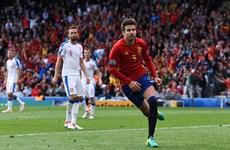 Gerard Pique tỏa sáng, Tây Ban Nha nhọc nhằn vượt ải CH Séc