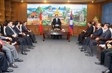 Chủ tịch nước Trần Đại Quang thăm tỉnh Champasak của Lào