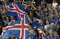 EURO 2016: Iceland đứng đầu về tỷ lệ số cổ động viên tới Pháp