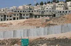 Israel chi bổ sung 18 triệu USD hỗ trợ khu định cư Bờ Tây