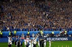 Thua thảm Pháp, Iceland vẫn ăn mừng như giành chức vô địch