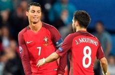 """Cristiano Ronaldo """"ép"""" đồng đội phải đá luân lưu cho Bồ Đào Nha"""
