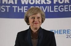 Bà May không còn đối thủ trong cuộc đua vào ghế Thủ tướng Anh