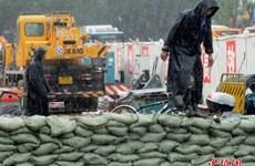 Siêu bão Nepartak đổ bộ vào Trung Quốc, lũ như đại hồng thủy