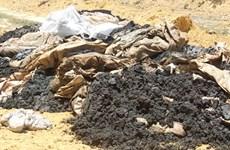 Vụ chôn lấp chất thải của Formosa: Vi phạm pháp luật về môi trường
