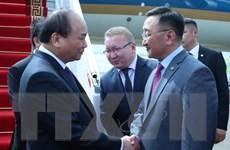 Thủ tướng Nguyễn Xuân Phúc bắt đầu thăm chính thức Mông Cổ